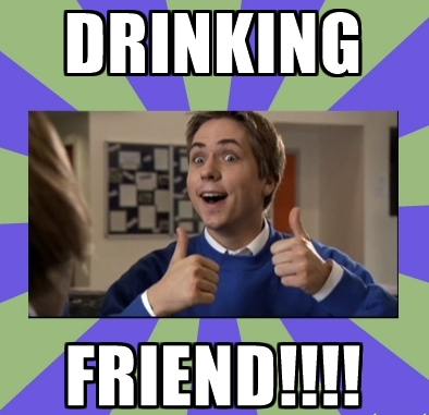 12 pubs of christmas drinking friend