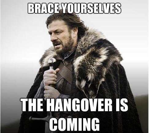 12 pubs of christmas hangover